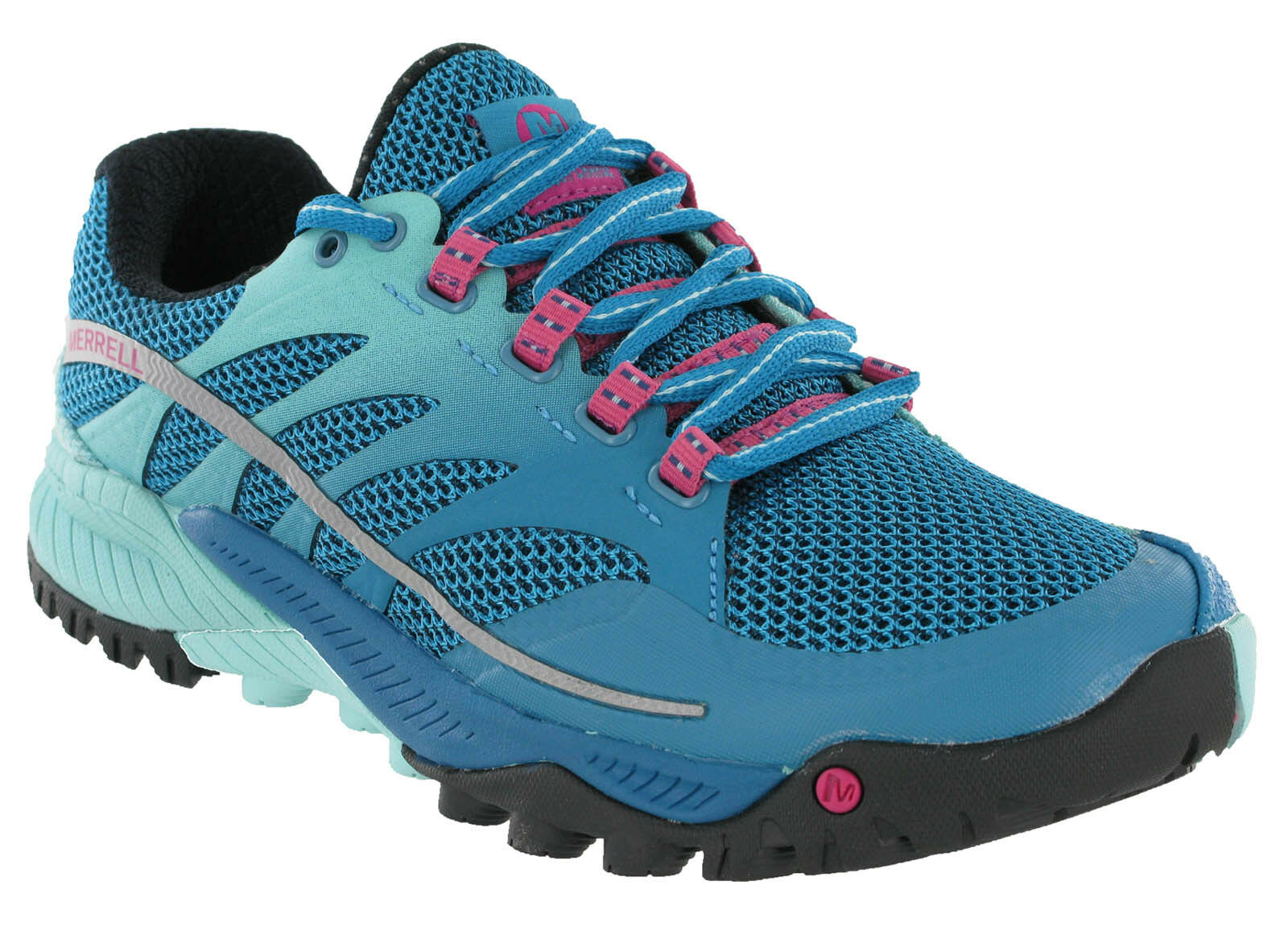 78381c9f65 Merrell All Out Charge Trainers Womens Sports Mesh Hiking Trail Shoes J03960