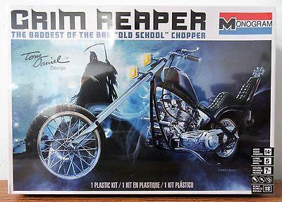 Revell Monogram Tom Daniel Old School Grim Reaper motorcycle model kit 1/8