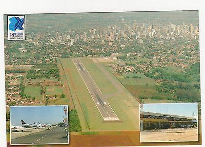 Aeroporto de Londrina Brasil Aviation Postcard, A994