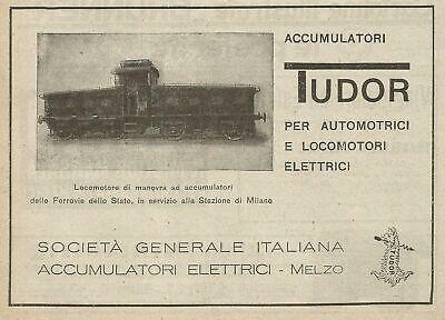 Acumuladores eléctricos Tudor Z0030 - Anuncio de 1926 - Publicidad