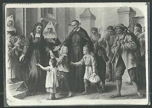 Fotografia-antigua-de-San-Vicente-de-Paul-andachtsbild-santino-holy-card-santini