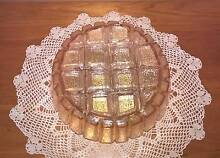 Vintage Amber Carnival Glass Light shade fitting Golden Grove Tea Tree Gully Area Preview