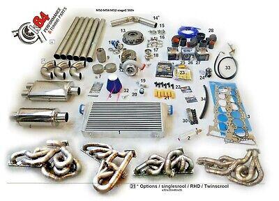TURBO KIT BMW E46 E39 M54 M54 B30 M52 M50 2.5 2.8 3.0 STAGE 2 TURBOKIT k64 !!!!!