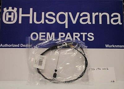 Genuine Husqvarna 532196002 OEM Drive Cable also Craftsman 1