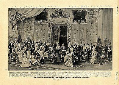 Das Bayrische Königshaus (Namen) Zum 80.Geburtstag des Prinzregenten von 1901