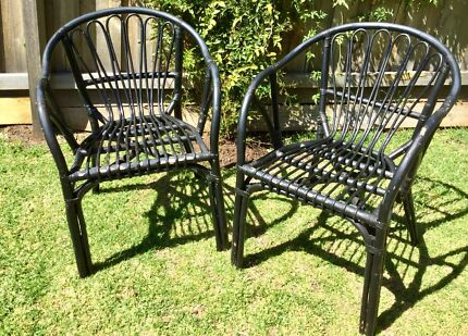 Pick up Geelong Provincial Living cane outdoor chairs