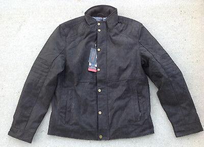 Bernardo Men's Fashion Authentic Leather Jacket, Black, Size M