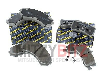 Front & Rear Brake Pads for Mitsubishi Shogun Mk3 3.2 DiD 3.5 GDi 2000-2006