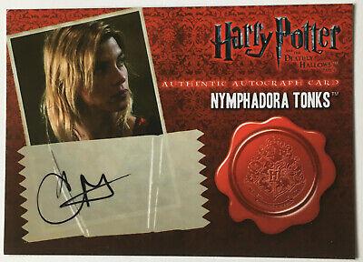 Tonks Natalia Tena Trading Card Autograph Harry Potter Superbob Game of Thrones