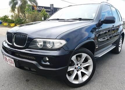 BMW X5 SUV TURBO DIESEL SPORT, AUTO, REGO, RWC, PPSR & FULL SERV