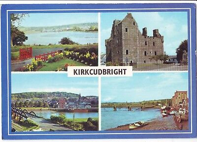 Old Postcard - Kirkcudbright (Various Views) - Unposted 0475