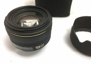 Sigma F/1.4 30MM fixed lens for Nikon