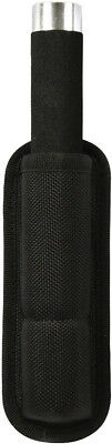 Black Enhanced Molded Long Baton or Flashlight Holder Pouch