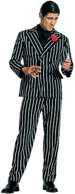 20er Jahre Gangster Kostüm für Herren NEU - Herren Karneval Fasching - 20er Jahre Gangster Kostüm Herren