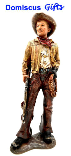 """15 1/2"""" NEW! Western COWBOY Rifle RANCHER Wrangler Southwest COLLECTIBLE Figure"""