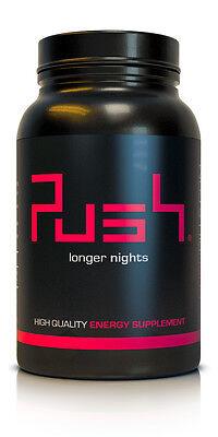 Push – Der Energy Booster | 60 vegane Tabletten | Koffein, Guarana | Made in DE