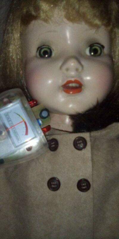 Estate Vintage Haunted Doll Jill