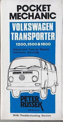 VW SPLIT SCREEN & BAY WINDOW 1200 1500 1600 TRANSPORTER 1954-73 REPAIR HANDBOOK