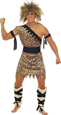 h Steinzeit Kostüm NEU - Herren Karneval Fasching Verkleidung (Caveman Kostüme)