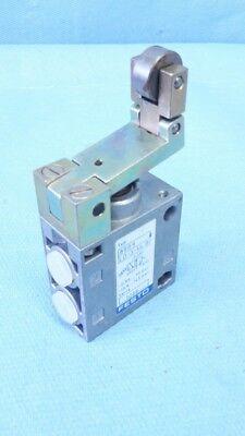 4 Pneumatische Rollen (Festo LO-3-1/4 B  8989 Rollenhebelventil Pneumatikventil limit valve  81017.9)