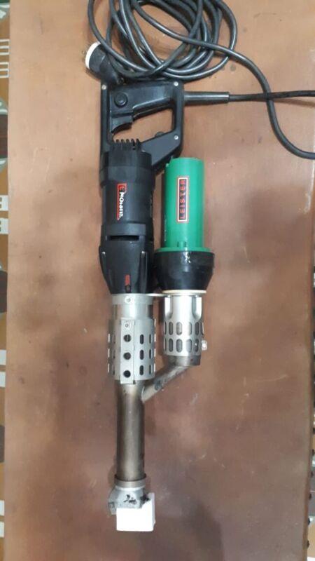 Extrusion weldersFUSION 3 - 230 V / 3500 W / Welding rod ∅ 4 – 5 mm / EU-plug