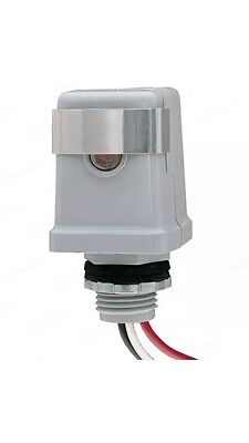 Stem Mount Photo Control 120V Swivel Raintight Outdoor photocell weatherproof