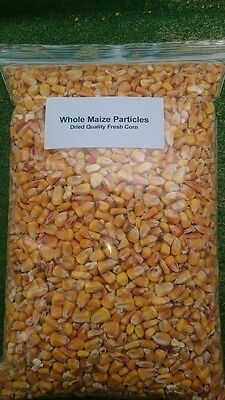 Maize Particles -2KG Dried French Quality Corn For Fishing In A Re-Sealable Bag