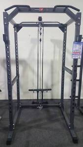 BRAND NEW BODYWORX CAGE - HEAVY DUTY WITH J-HOOKS AND SPOTTERS. Canning Vale Canning Area Preview