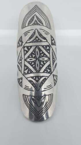 Vintage rings Berber Traditional hot Silver Ethnic Moroccan gravere