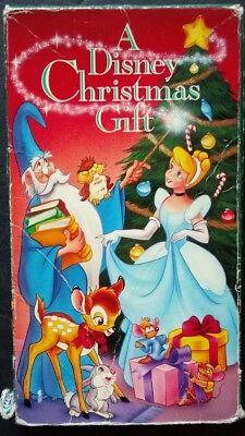 A Disney Christmas Gift (VHS, 1992) Walt Disney Home Video #224 100% Guaranteed