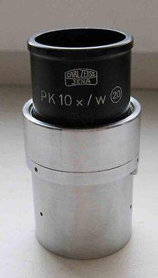 Carl Zeiss Jena Microscope Polar Pk 10x W 20 Eyepiece Pol.