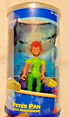 Disney PETER PAN 2006 Figure w/ Accessories New in Package Disney HEROES - Peter Pan Accessories