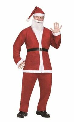 Cheap Pub Crawl Santa Claus Suit Adult Halloween Costume SantaCon NYC