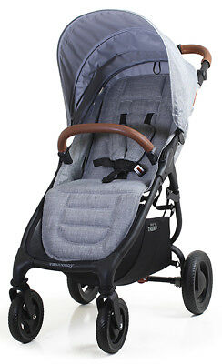 Valco Baby Snap 4 Trend Compact Fold Lightweight Single Stroller Grey Marle New for sale  Norwalk