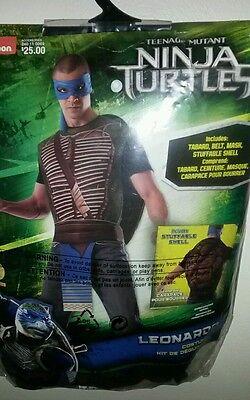 Ninja Turtles Leonardo Halloween Costume Stuffable Shell 14+ - Halloween Costume Ninja Turtle Shell