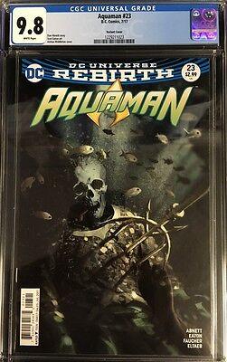 Aquaman #23 CGC 9.8 Joshua Middleton Variant Cover!