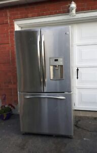 GE cointer-depth refrigerator, free delivery