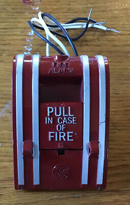 Edwards Signaling 270a-spo Noncoded Fire Alarm Box Ge Branded Pull Station