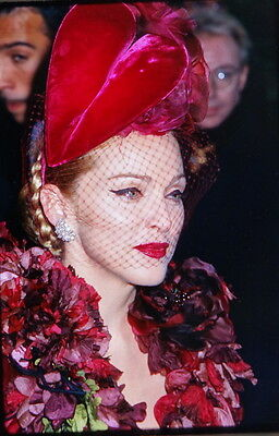 56 35mm Color Photo Slide Pictures of Madonna - Evita Premiere Los Angeles 1996