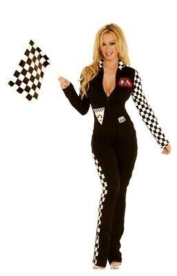 Race Car Driver Halloween Costumes (Race Car Driver 2 pc set Nascar Halloween Roleplay Costume S/M Elegant Moments)