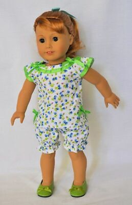 Doll Clothes Maryellen's Pajamas PJs & Slippers For 18