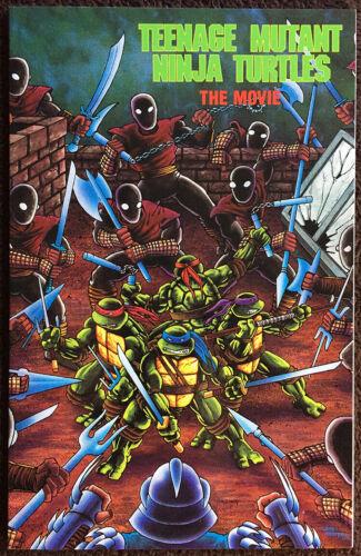 Teenage Mutant Ninja Turtles The Movie (1990) Mirage / Archie Comics. Hi Grade!