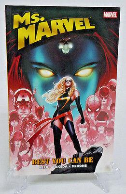 Ms. Marvel Volume 9 Best You Can Be Marvel Comics TPB Trade Paperback (Best Comic Trade Paperbacks)