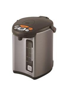 Zojirushi CD-WCC30 Micom Water Boiler & Warmer, Silver (DOUBLE BOXED!)
