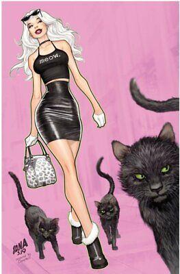 BLACK CAT #1 NAKAYAMA VIRGIN VARIANT MARVEL COMICS FELICIA HARDY SPIDERMAN W/COA](Black Cat Felicia Hardy)