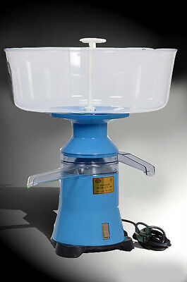 Milk Cream Electric Centrifugal Separator Plastic 100lh New