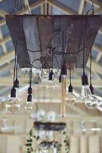 Rustic Chandelier - Hand crafted - Unique Lighting Gladesville Ryde Area Preview