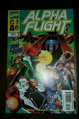 ALPHA FLIGHT#16 Vol 2 Marvel 1998 1st BIG HERO SIX Disney/Pixar Sunfire & 6 HOT!