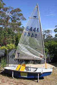 Sabot 'Hard Target' 5444 Dinghy Sports Leslie Vale Kingborough Area Preview