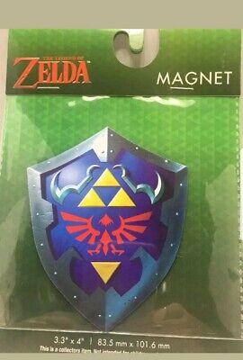 Legend Of Zelda Link Hylian Shield Magnet New Nintendo Rare Breath Of The (Hylian Shield Zelda Breath Of The Wild)